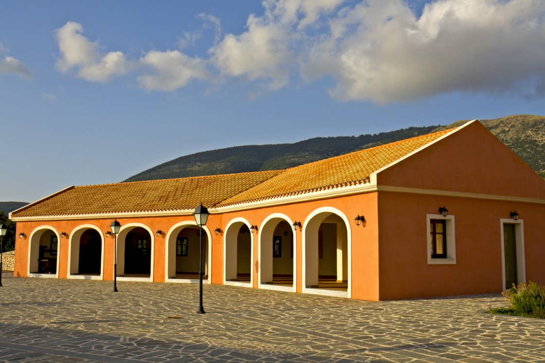 Robola Wine factory at 'Fragata' village of Kefalonia island in Greece